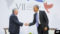 Рауль Кастро і Барак Обама