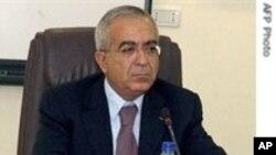 사임하는 살렘 파예드 팔레스타인 자치정부 총리
