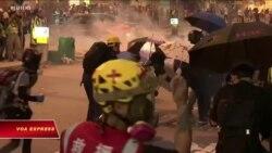 Hong Kong tiếp tục rúng động vì biểu tình