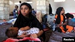 Anak-anak Yaman harus tinggal di kamp pengungsi di Bosasso di Puntland, Somalia, akibat kekerasan yang terjadi di Yaman (foto: ilustrasi).