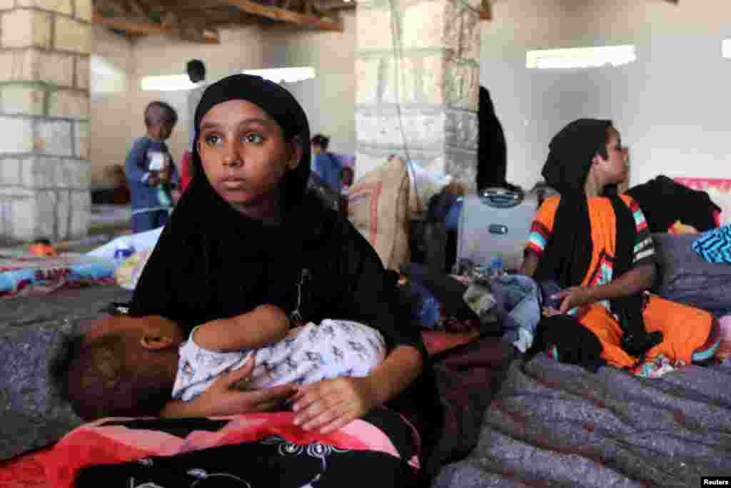 Somalida jon saqlayotgan yamanliklar