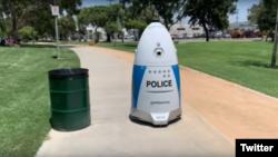 روبوکوب گشت کر رہا ہے