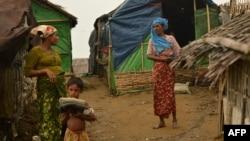 Kamp pengungsi warga Muslim Rohingya di Sittwe, negara bagian Rakhine, Myanmar (foto: dok).