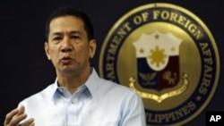 菲律賓外交部發言人埃爾南德斯(資料圖片)