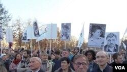 莫斯科民众抗议集会