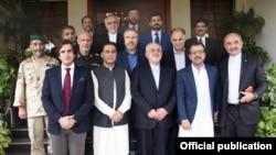 Menlu Iran Mohammad Javad Zarif berkunjung ke Pakistan (Foto: dok).