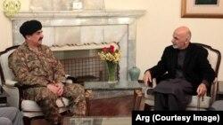 غنی به شریف: زمان مبارزۀ مشترک و صادقانۀ افغانستان و پاکستان بر ضد دهشت افگنی فرا رسیده است