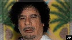 穆阿迈尔·卡扎菲(资料照)