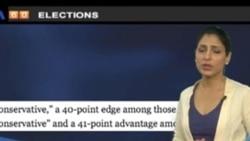 VOA60 Elections Urdu - Romney wins Michigan and Arizona