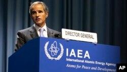 رافائل گروسی در شصت و پنجمین اجلاس عمومی آژانس بینالمللی انرژی اتمی - ۲۹ شهریور ۱۴۰۰
