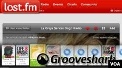 Last.fm y Grooveshark son los dos servicios de música online con mayor disponibilidad a nivel mundial, además de acceso desde celulares.