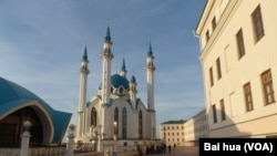 Une mosquée de Kazan, capitale du Tatarstan.