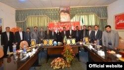 اعضای دوره چهارم شورای شهر مرند در روز آغاز به کار