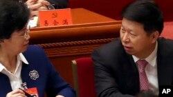 Ông Tống Đào trưởng ban Đối ngoại Đảng Cộng sản Trung quốc trước phiên họp khai mạc Dại hội Đảng, ngày 16/10/2017.