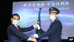 日本防衛省太空作戰中隊2020年5月18日舉行發射儀式。