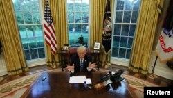 El presidente Donald Trump cumple el 20 de enero de 2018 su primer año en la Casa Blanca.