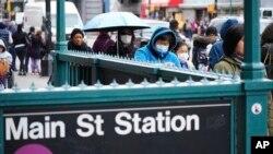 Đường phố New York những ngày chống dịch.