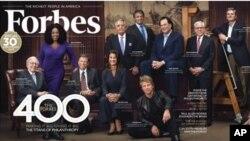 Разворот журнала Forbes