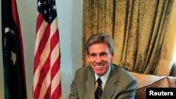 Посол США в Ливии Крис Стивенс, погибший в результе теракта в Бенгази