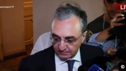 Ermənistan Xarici İşlər Naziri Zöhrab Mnatsakanyan