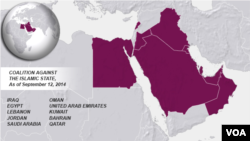 Coalition against the Islamic State, Sept. 12, 2014