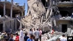 لیبیا دهڵێت بۆردومانی ناتۆ له تهرابلوس خهڵـکی سیڤیلی کوشـتووه