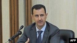 Suriya prezidenti nümayişlərin dağıdılmasını müdafiə edib (YENİLƏNİB)