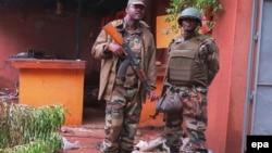 Militares malianos
