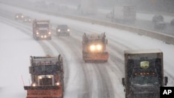 Epic Snowstorm Heads for US East Coast