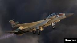 Máy bay chiến đấu F-15 của Israel. (Ảnh tư liệu)