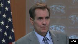 جان کربی سخنگوی وزارت خارجه ایالات متحده آمریکا - 11 خرداد 1395
