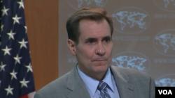 جان کربی سخنگوی وزارت خارجه ایالات متحده آمریکا - ۱۱خرداد ۱۳۹۵