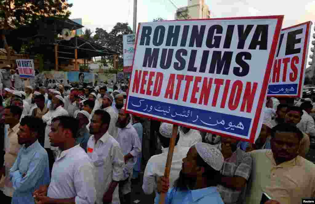 Birmada musulmonlar kamsitiladi