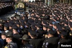 拉莫斯警官葬礼