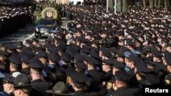 Ramos, junto al agente Wenjian Liu, fueron los primeros policías en ser asesinados en Nueva York, desde los atentados del 11 de septiembre.