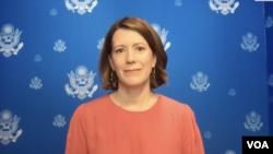 Андреа Калан, официальный представитель Госдепартамента