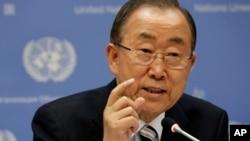 Ban Ki-moon, secretario general de la ONU, aseguró que los ataques aéreos de EE.UU. sobre Irak, ayudaron a salvar la vida de muchos iraquíes.