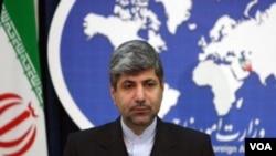 Juru Bicara Kementerian Luar Negeri Iran Ramin Mehmanparast