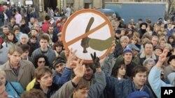 Прага, 1989 г.