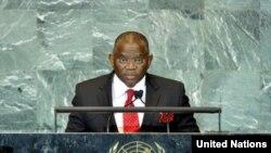 George Chikoti na ONU