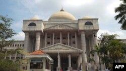 Pengadilan Tinggi Malaysia di Kuala Lumpur, 4 Oktober 2019. (Foto: ADIQ ASYRAF / AFP)