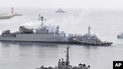 Vessels of South Korean Navy Command (file photo)