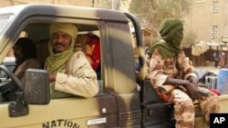 Des combattants du MNLA à Tomboucctou