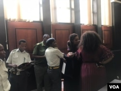 Marry Chiwenga appearing before a Harare magistrate.