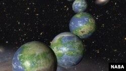 Visión artística del nacimiento de nuevos planetas similares a la Tierra.