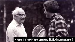 С сыном Владимиром. Фото из личного архива