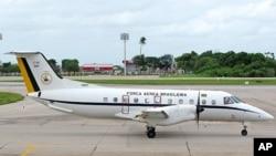 Avião Embraer 120 Brasilia, da Força Aérea Brasileira, igual ao da Força Aérea de Angola envolvido no acidente de quarta-feira