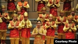 Kelompok paduan suara anak Indonesia 'The Resonanz Children Choir' di AS (foto/dok: TRCC)