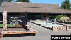 Umpqua Community College en Oregon.