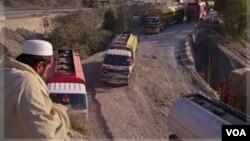 Los camiones de transporte de suministros a la OTAN en Afganistán volverían a circular a través de Pakistán.